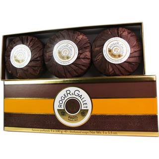 Roger & Gallet Bois D'orange Soap Coffret 100g 3-pack
