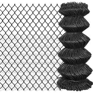 vidaXL Chain Link Fence 25mx80cm