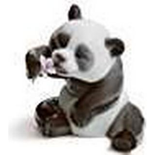 Lladro A Cheerful Panda Figurine