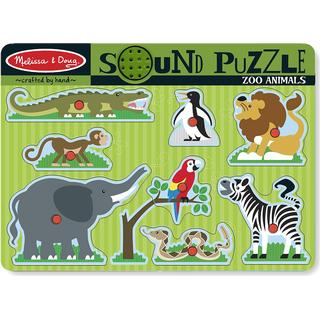 Melissa Zoo Animals Sound Puzzle 8 Pieces