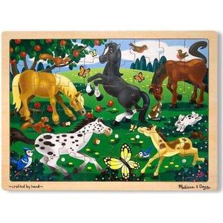Melissa & Doug Frolicking Horses Jigsaw Puzzle 48 Pieces