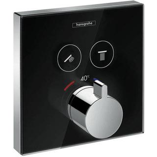 Hansgrohe ShowerSelect Glass (15738600) Chrome, Black