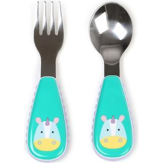 Skip Hop Zootensils Fork & Spoon Eureka Unicorn
