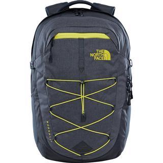 The North Face Borealis Backpack - Asphalt Grey White Heather/Blazing Yellow