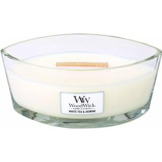 Woodwick White tea & Jasmine Ellipse Scented Candles