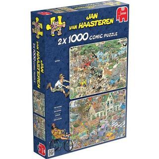 Jumbo Storm & Safari 2 in1 1000 Pieces