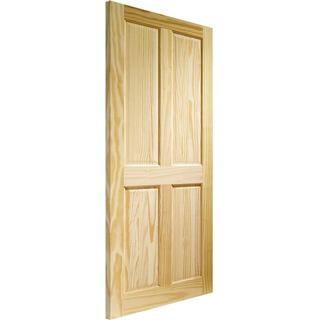 XL Joinery Victorian 4 Panel Clear Pine Interior Door (72.6x204cm)
