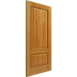 JB Kind Royale 12M Oak Unfinished Interior Door (83.8x198.1cm)