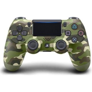 Sony DualShock 4 V2 - Green Camouflage