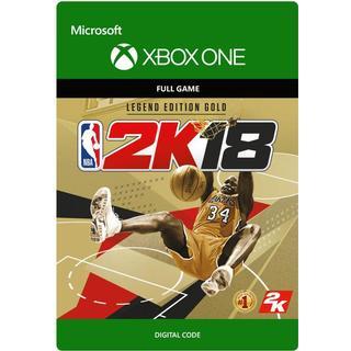 NBA 2K18: Legend Edition Gold