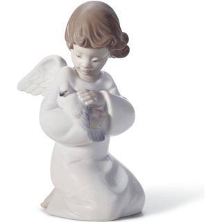 Lladro Loving Protection Angel Figurine