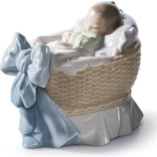 Lladro A New Treasure Boy Figurine