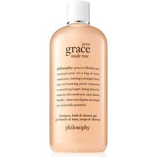 Philosophy Pure Grace Nude Rose Shampoo Bath & Shower Gel 480ml