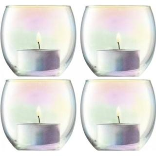 LSA International Pearl 4-pack Candle Holder