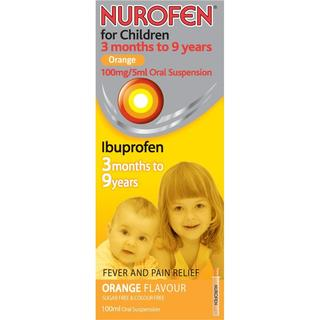 Nurofen For Children Orange 100ml