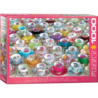 Eurographics Tea Cup Collection 1000 Pieces