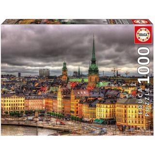 Educa Views of Stockholm Sweden 1000 Pieces
