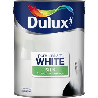 Dulux Silk Wall Paint, Ceiling Paint White 5L