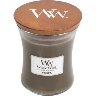 Woodwick Oudwood Medium Scented Candles