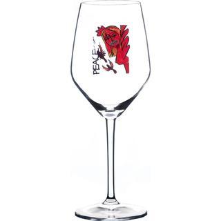Carolina Gynning Scream Peace White Wine Glass 40 cl