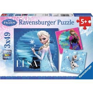 Ravensburger Disney Frozen Elsa Anna & Olaf 3x49 Pieces