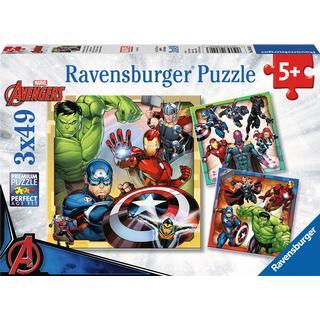 Ravensburger Avengers Assemble 3x49 Pieces