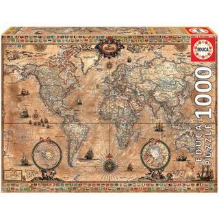 Educa Antique World Map 1000 Pieces