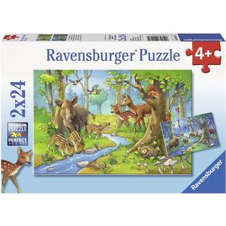 Ravensburger Animals of the Forest 2x24 Pieces
