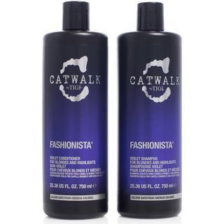 Tigi Catwalk Fashionista Violet Duo 2x750ml