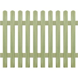 vidaXL Picket Fence 170x120cm 43576