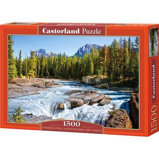 Castorland Athabasca River Jasper National Park Canada 1500 Pieces