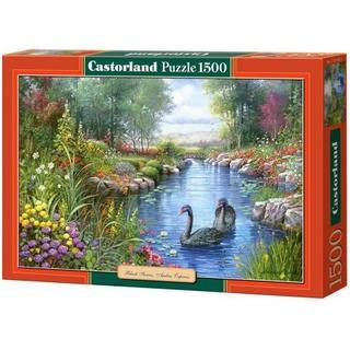 Castorland Black Swans Andres Orpinas 1500 Pieces