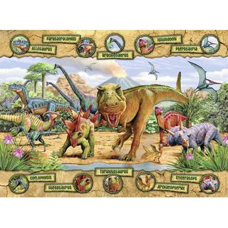 NATHAN Dinosaures 150 Pieces