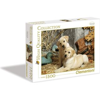 Clementoni High Quality Collection Hunting Dogs 1500 Pieces
