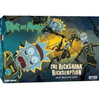 Cryptozoic Rick & Morty: The Rickshank Rickdemption Deck Building Game