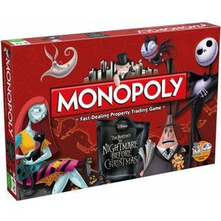USAopoly Monopoly Tim Burton's The Nightmare Before Christmas