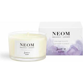 Neom Organics Tranquillity Travel Scented Candle English Lavender Sweet Basil & Jasmine 75g