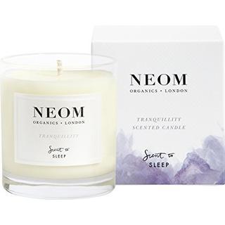 Neom Organics Tranquillity Scented Candle English Lavender Sweet Basil & Jasmine 185g