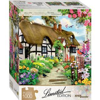 Step Puzzle English Cottage 1000 Pieces