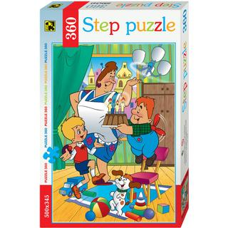 Step Puzzle Karlsson on the Roof 360 Pieces