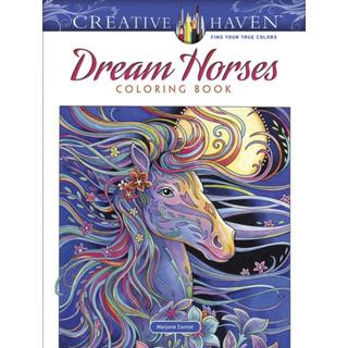 Creative Haven Dream Horses Coloring Book (Adult Coloring)