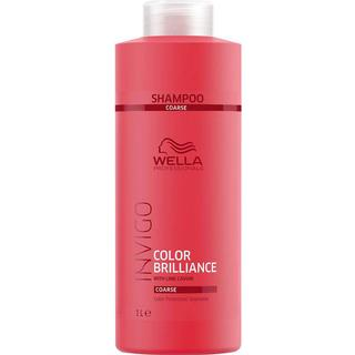 Wella Invigo Color Brilliance Color Protection Shampoo Coarse Hair 1000ml