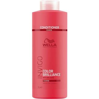Wella Invigo Color Brilliance Vibrant Color Conditioner for Coarse Hair 1000ml