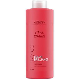 Wella Invigo Color Brilliance Color Protection Shampoo Fine/Normal Hair 1000ml