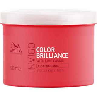 Wella Invigo Color Brilliance Vibrant Color Mask Fine/Normal Hair 500ml