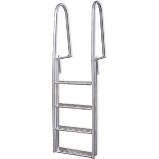 vidaXL Pool Ladder 4 Steps 170cm