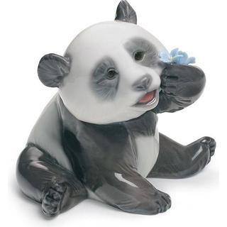 Lladro A Happy Panda 8cm Figurine