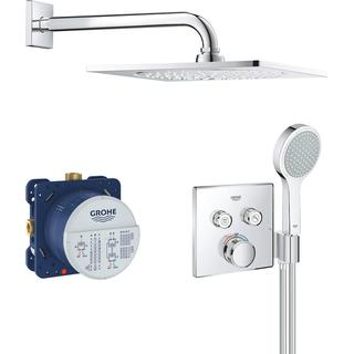 Grohe Grohtherm Smart Control Shower System (34742000) Chrome