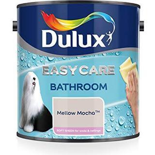 Dulux Easycare Bathroom Soft Sheen Wall Paint, Ceiling Paint Off-white 2.5L