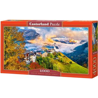 Castorland Colle Santa Lucia Italy 4000 Pieces
